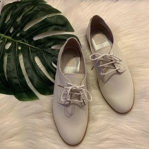 Dolce Vita White Oxford Shoes